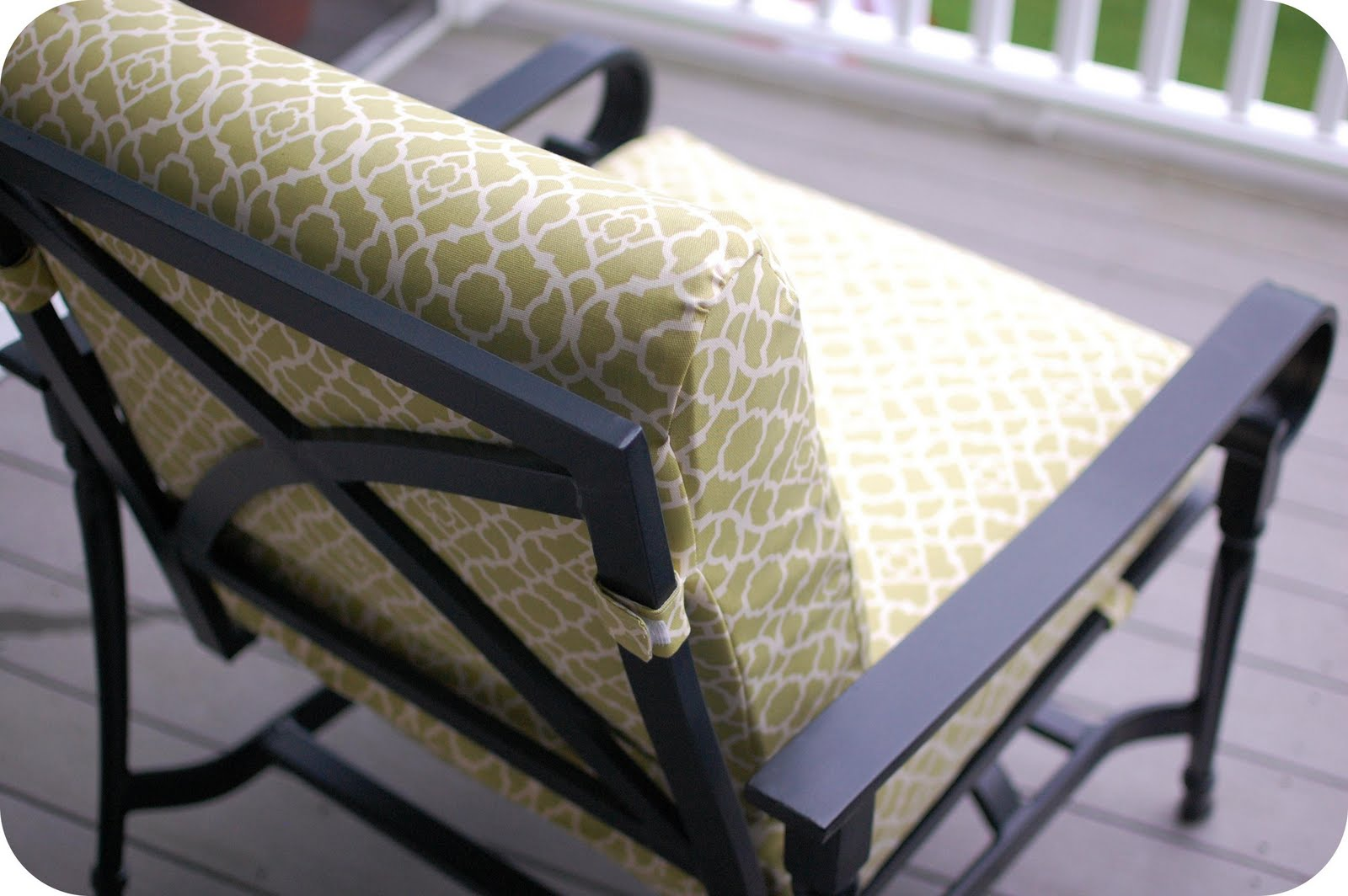 sewing patterns for patio chair cushions magellan fishing remodelaholic that 39s cushy updated cushion