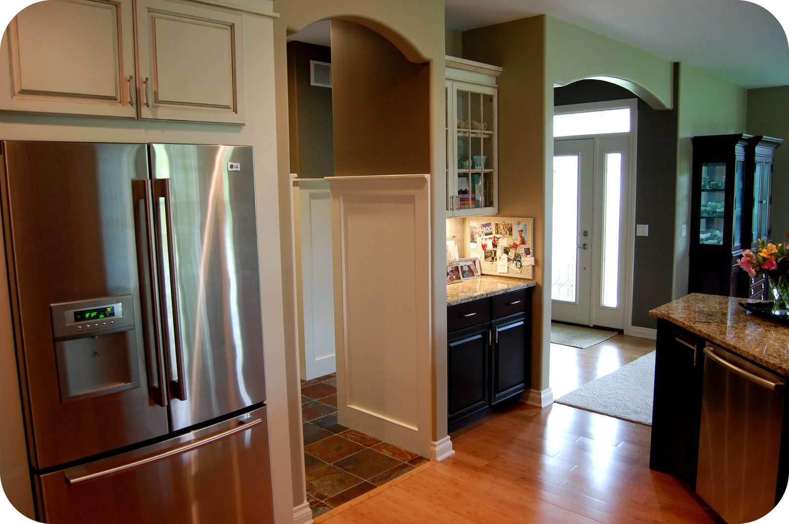 Benjamin Moore Kitchen Cabinet Colors 33 Shades Of Green Home Tour Kitchen