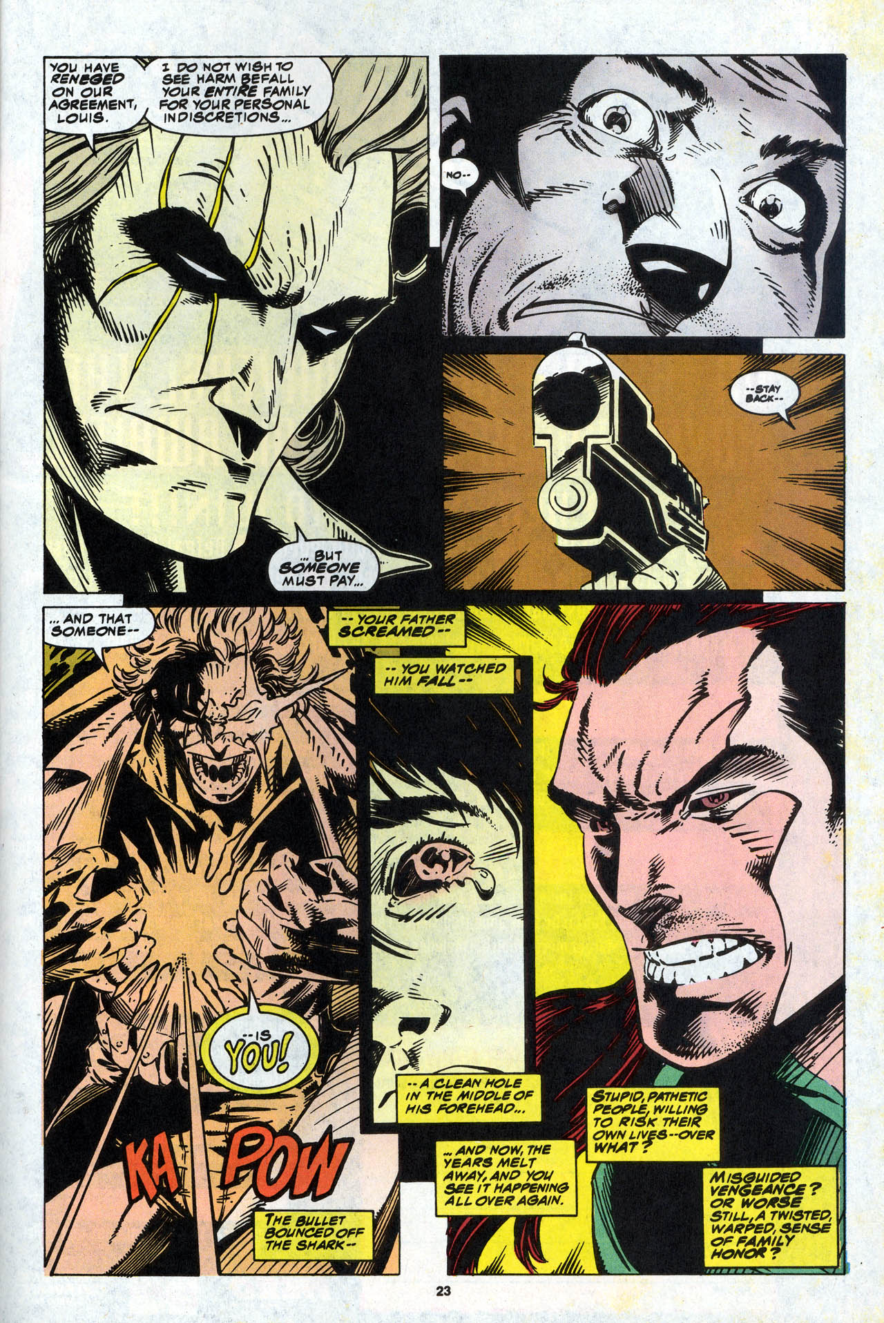 Read online X-Force (1991) comic -  Issue #34 - 24