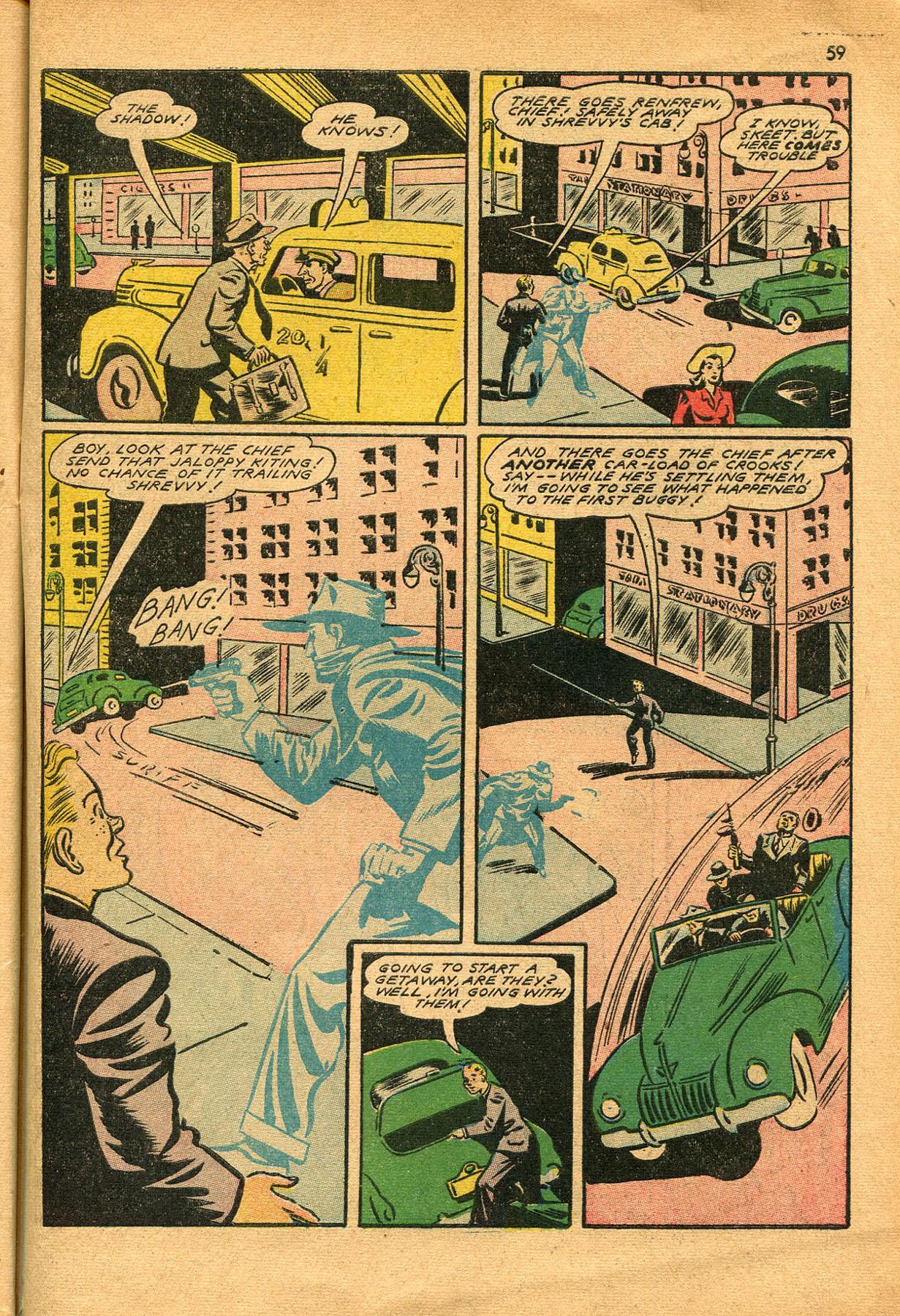 Read online Shadow Comics comic -  Issue #23 - 59