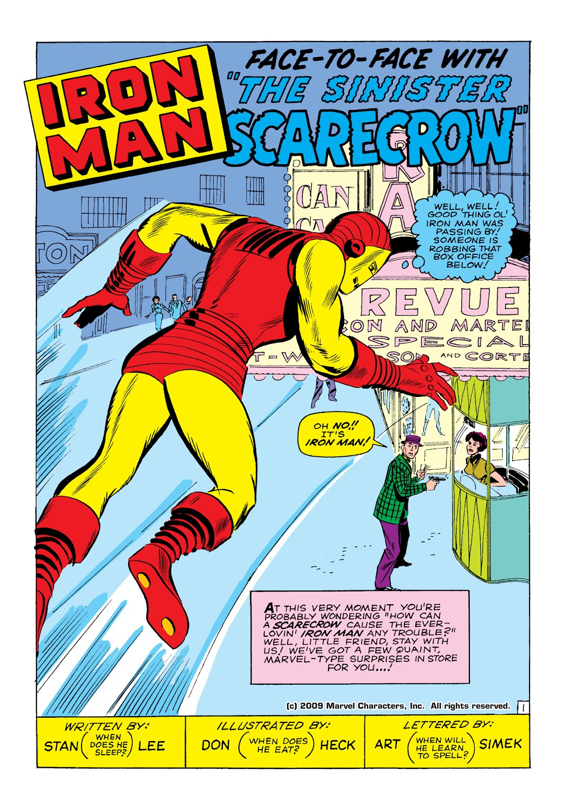 Read online Marvel Masterworks: The Invincible Iron Man comic -  Issue # TPB 2 (Part 1) - 4