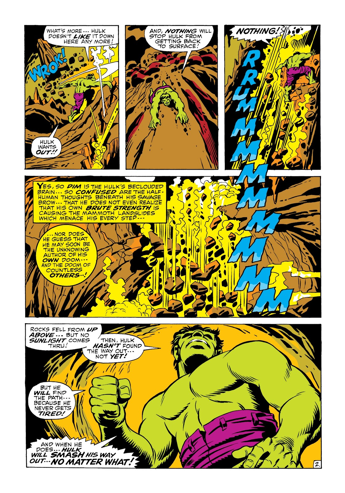Read online Marvel Masterworks: The Incredible Hulk comic -  Issue # TPB 6 (Part 2) - 36