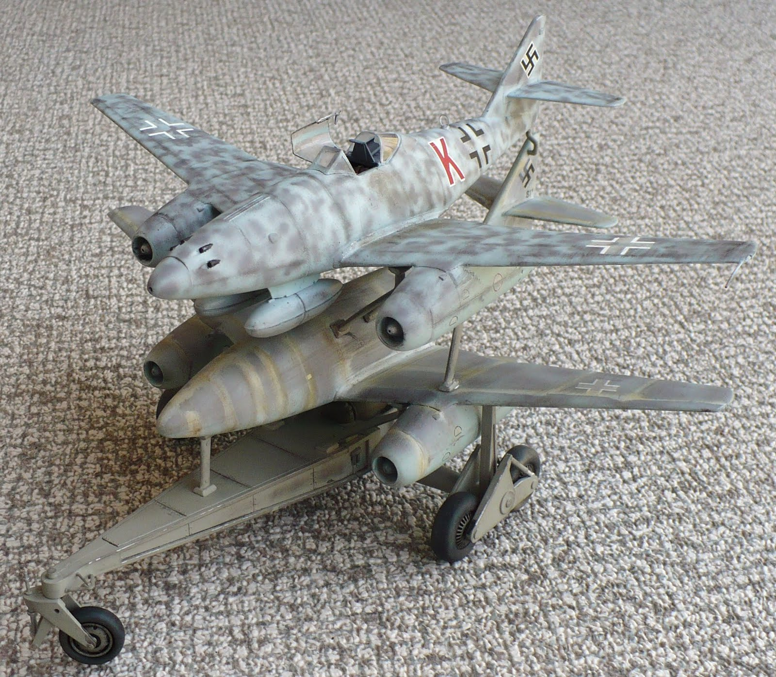 The Great Canadian Model Builders Web Page!: ME 262 Mistel
