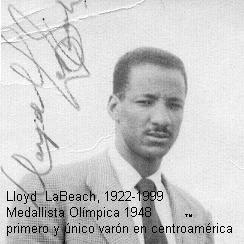 sayago running el atleta panameño lloyd labeach fue incluido en el