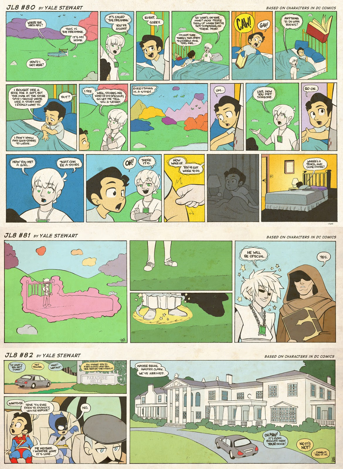 Read online JL8 – The Complete Collection comic -  Issue # TPB (Part 1) - 41
