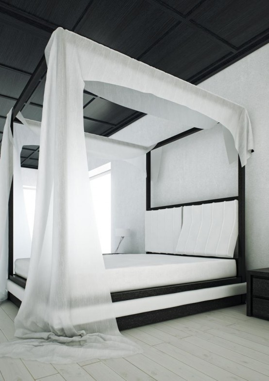 By the canopy bed - Pictures of canopy beds ...