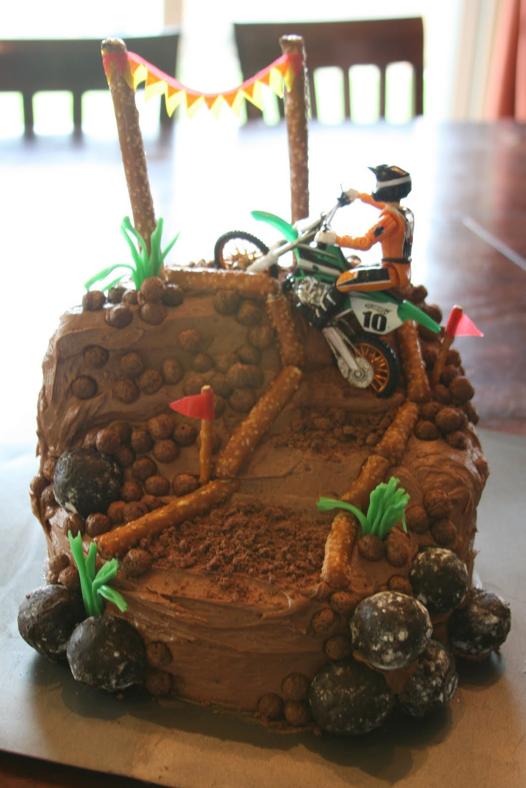 Motocross Birthday Cake That We Found In The Family Fun Magazine