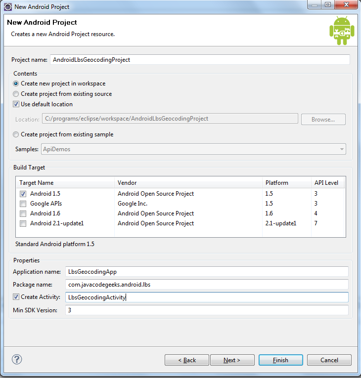 Android Location Based Services Application – GPS location | Java