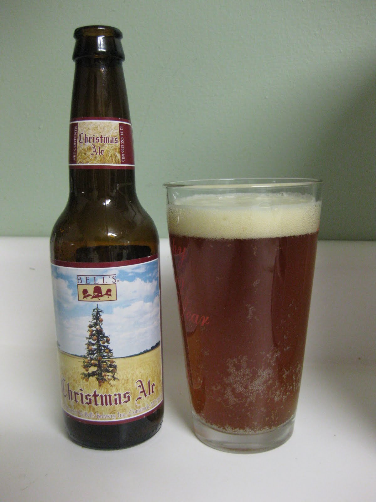 Bells Christmas Ale.What We Eat Is Laughable 12 Beers Of Christmas Bell S And