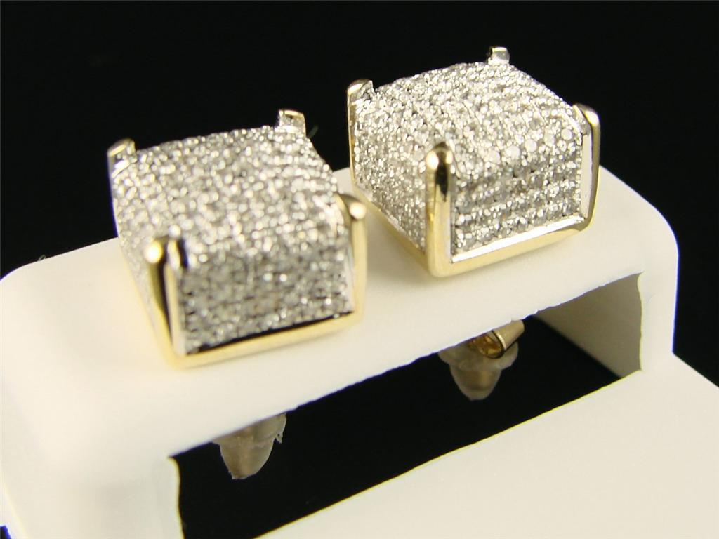 New York Jewels Ice Cube Block Mens Ladies Si Diamond
