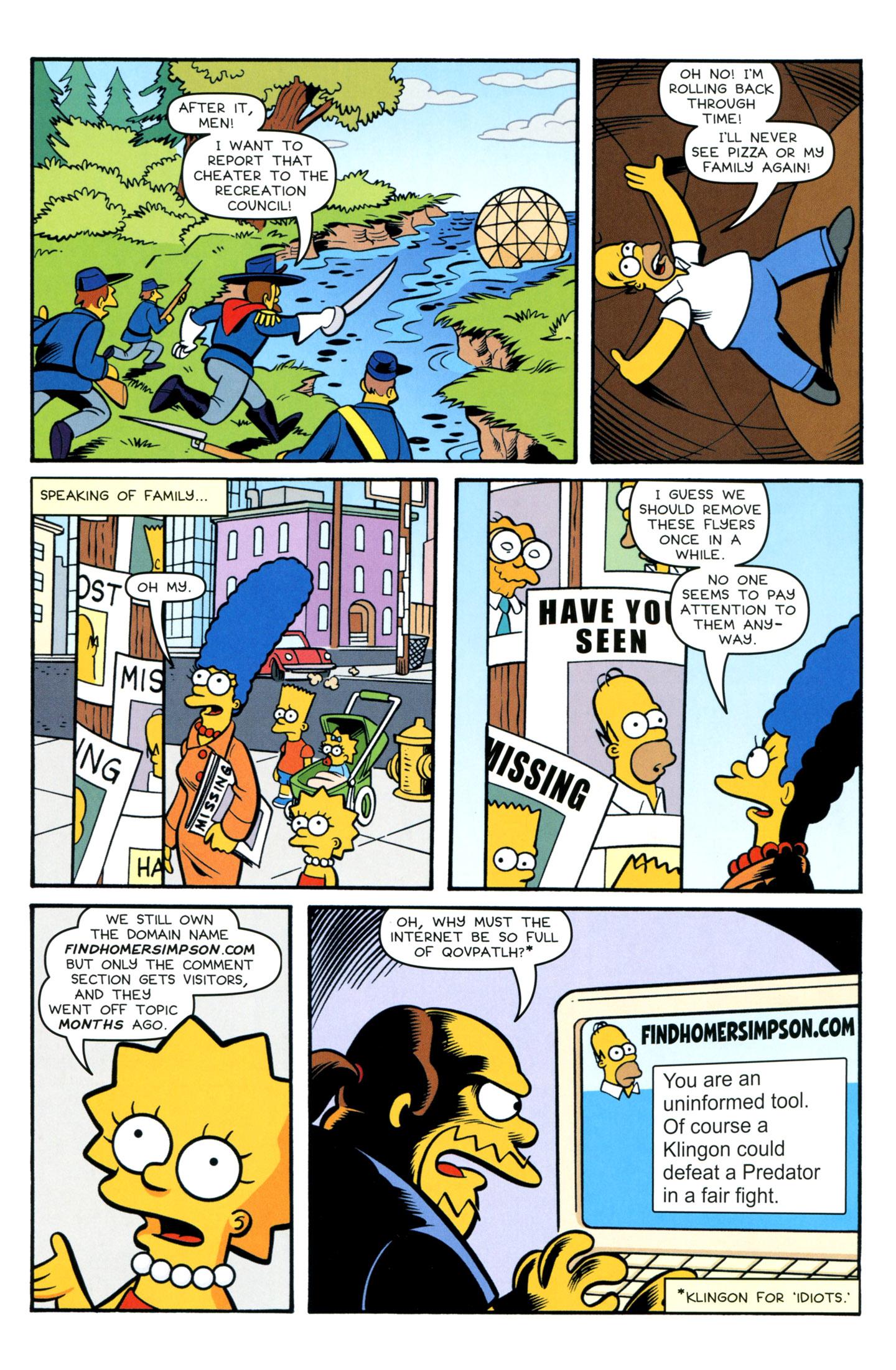 Read online Simpsons Comics comic -  Issue #195 - 18