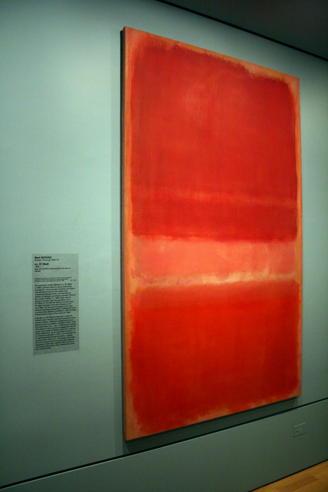 No. 37 by Mark Rothko