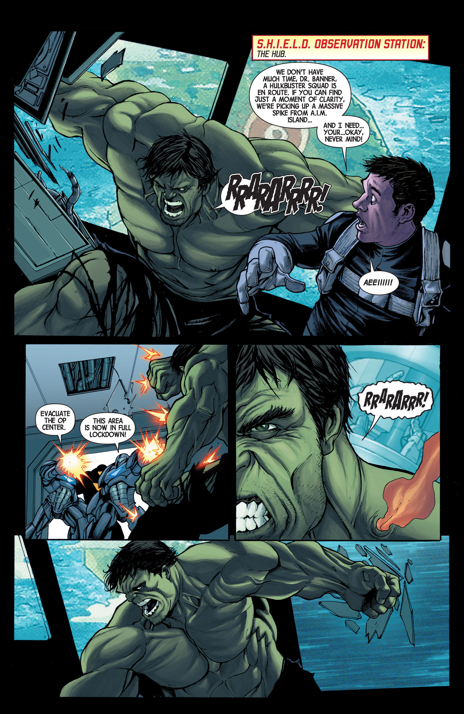 Read online Avengers (2013) comic -  Issue #16 - 21
