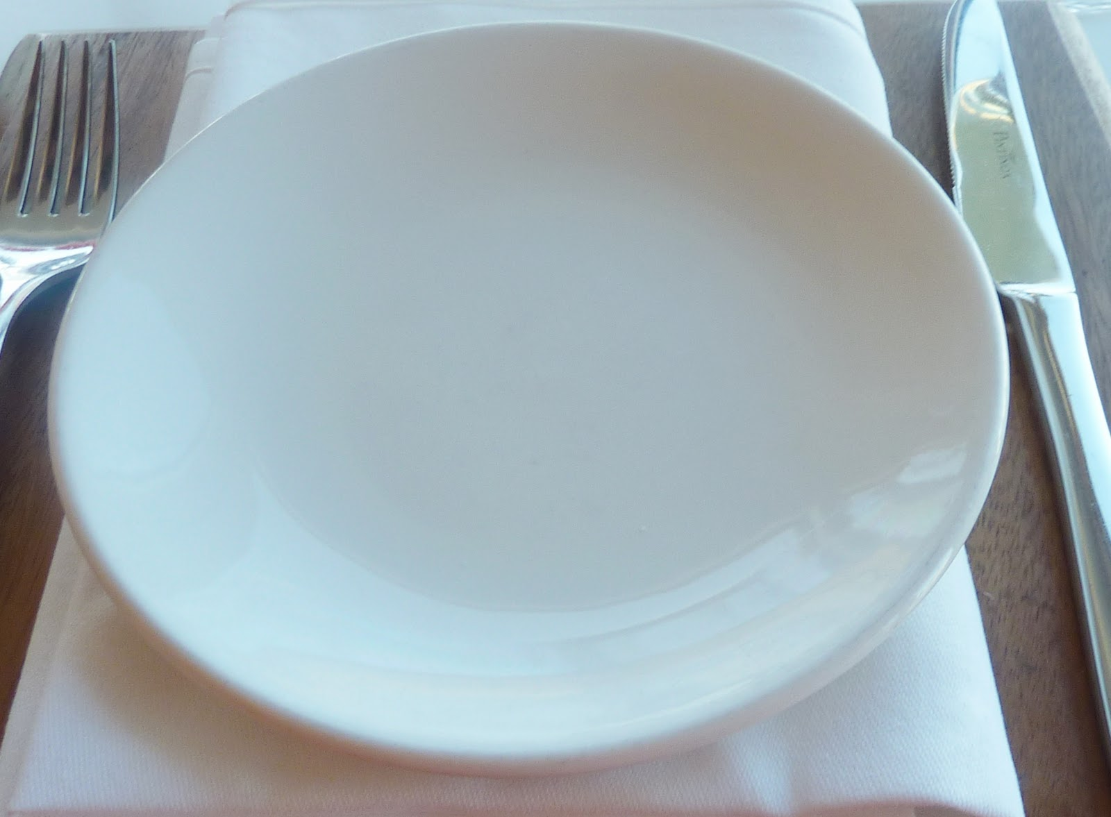 Empty IF diet plate