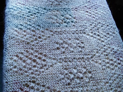 Kate's Shawl detail