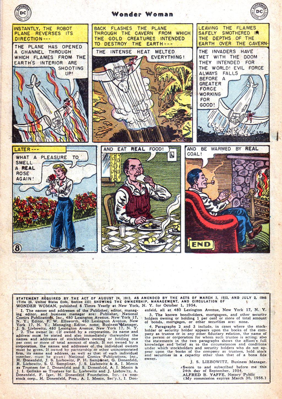 Read online Wonder Woman (1942) comic -  Issue #72 - 22