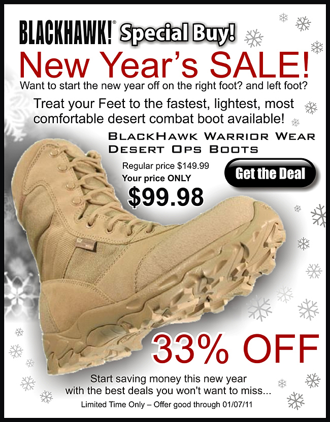 d1aa1903ecd1b Patriot Outfitters is offering great deals on quality BlackHawk Gear for  January 2011!
