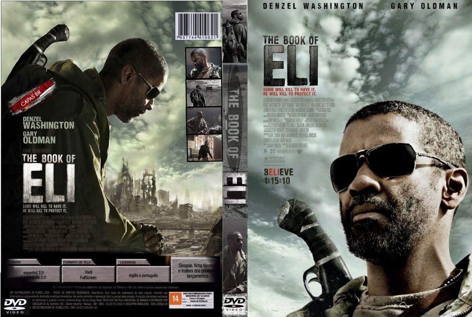 Capas Filmes de Ficção: O Livro de Eli