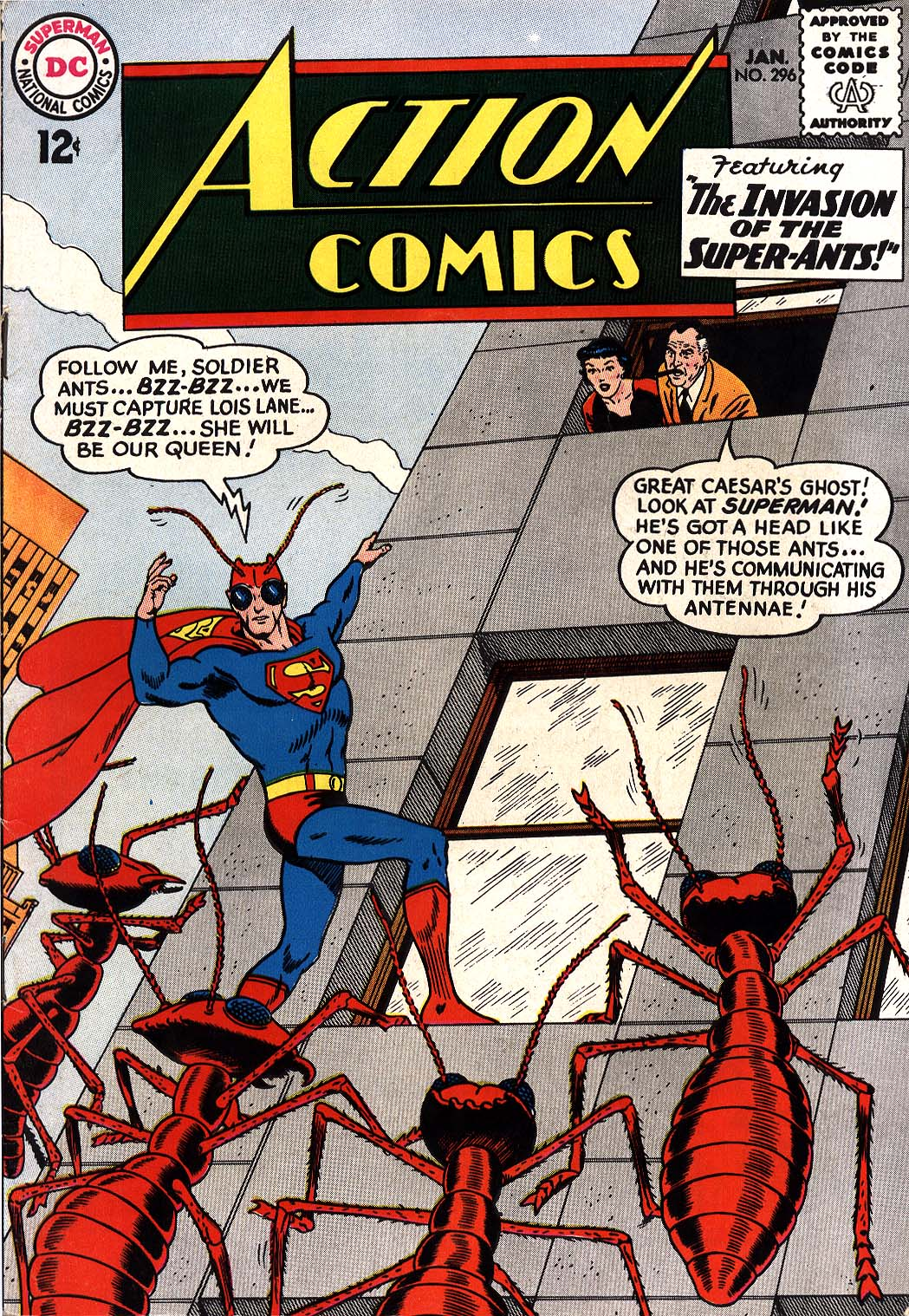 Read online Action Comics (1938) comic -  Issue #296 - 1