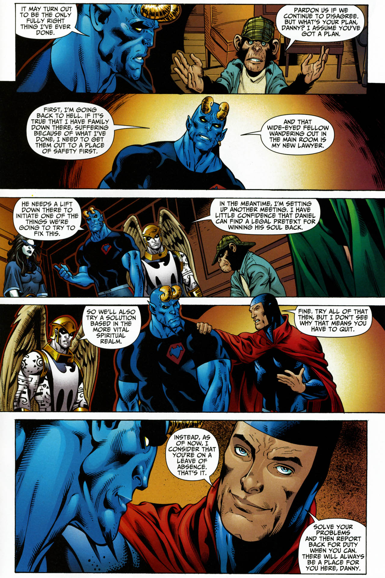Read online Shadowpact comic -  Issue #14 - 22
