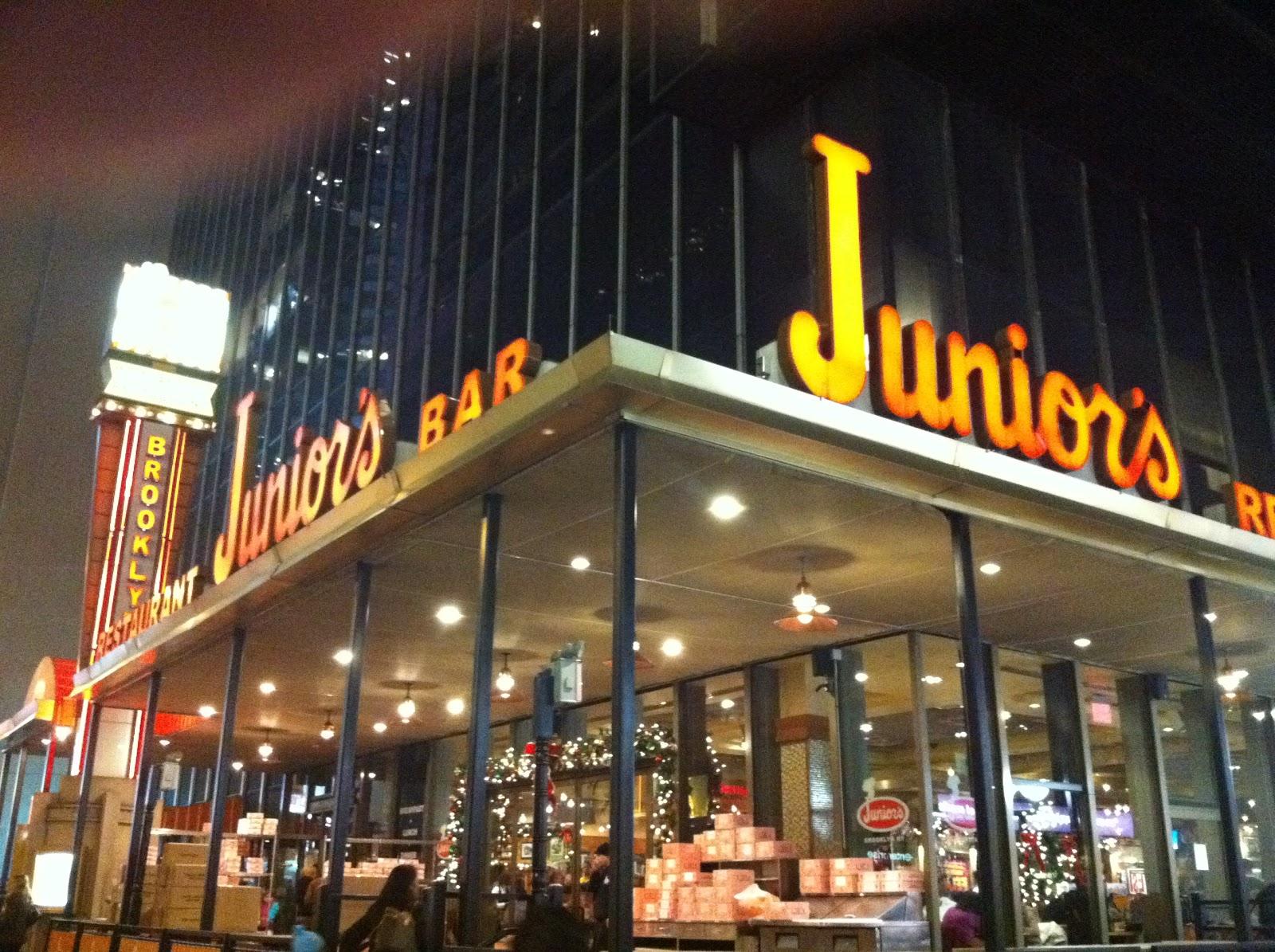 Juniors Restaurant New York Ny