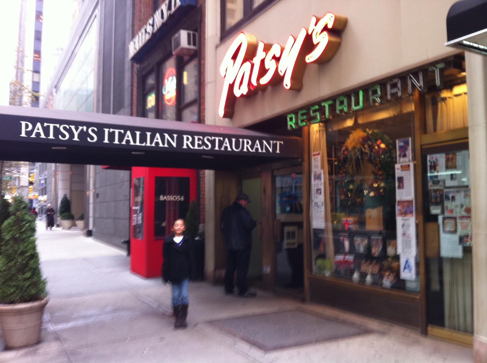 Italian Restaurants In Nyc: TASTE OF HAWAII: PATSY'S ITALIAN RESTAURANT
