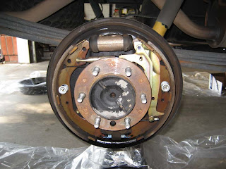 My Toyota Tundra: Upgrading rear brakes on Toyota Tundra 2002