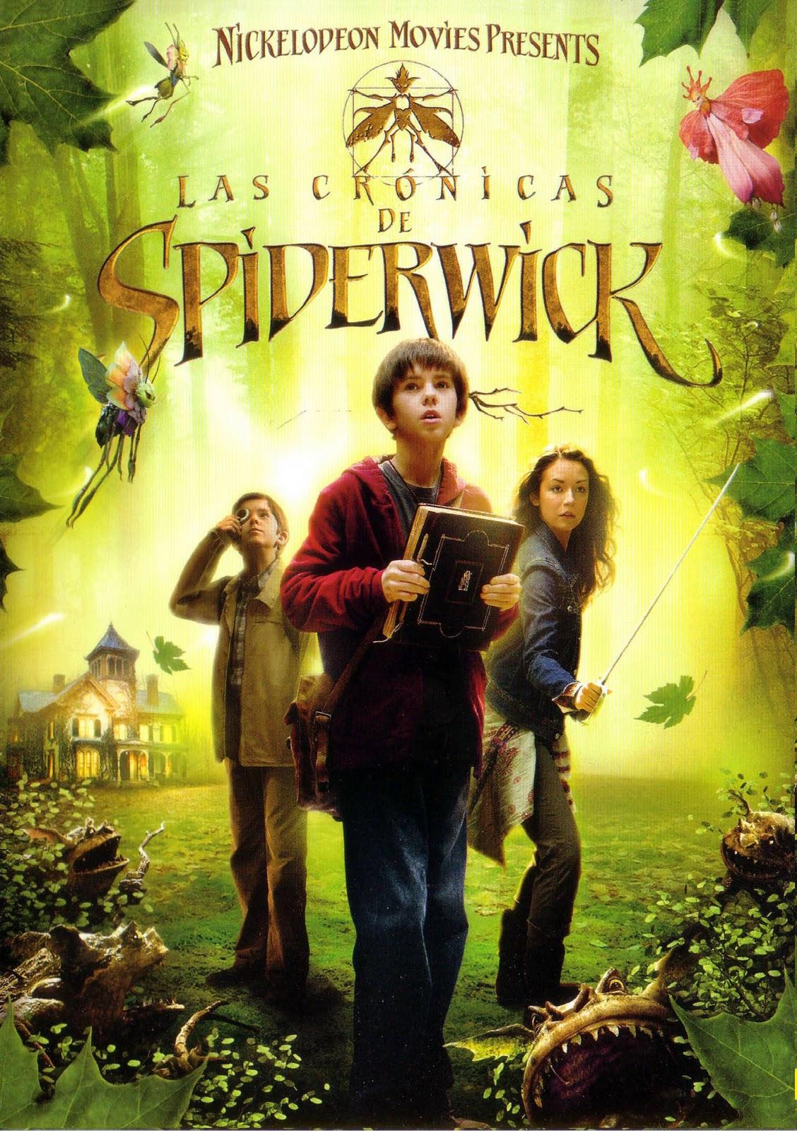 póster de la película Las crónicas de Spiderwick