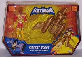 DC Batman Brave and Bold Attack Sub Attack Coptor Firestorm Rocket Blast Plastic Man Green Arrow JLU Justice League
