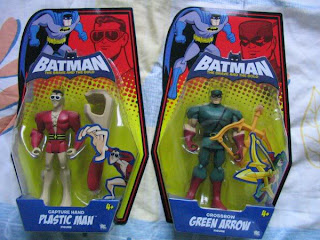 DC Batman Brave and Bold Attack Sub Attack Coptor Firestorm Rocket Blast Plastic Man Green Arrow JLU Justice League