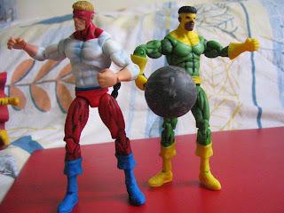 Marvel Secret Wars comic packs Avengers Captain America Hulk Iron Man Hawkeye Antman Wasp Thor Enchantress Ultron Magneto X-men Klaw Cannonball Piledriver Wrecking Crew