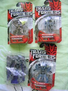 Burger King Transformers Revenge of the Fallen Movie Autobot Decepticon Blackout Starscream Megatron Leader Hasbro Legends Class