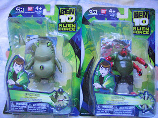 Ben 10 Tennyson Upchuck Gorvan Force