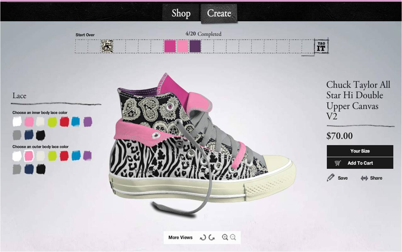 6a0f8b8dd78e Have you ever paid http   www.converse.com  a visit  Well if you have  you ll know you can design your own converse shoes and have them delivered  to you!
