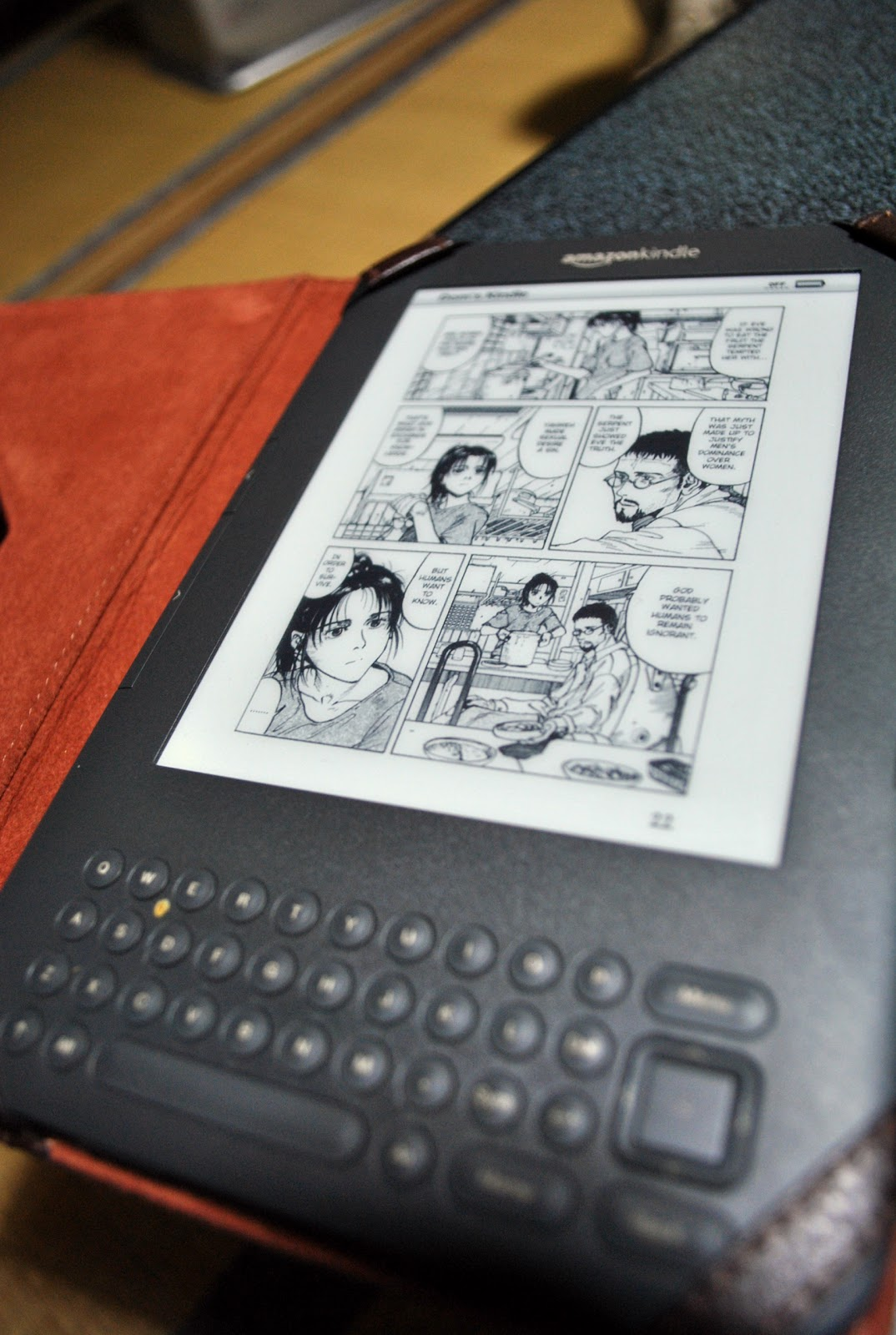 AccessJ: Using an Amazon Kindle 3/4 Part 2: Reading Manga