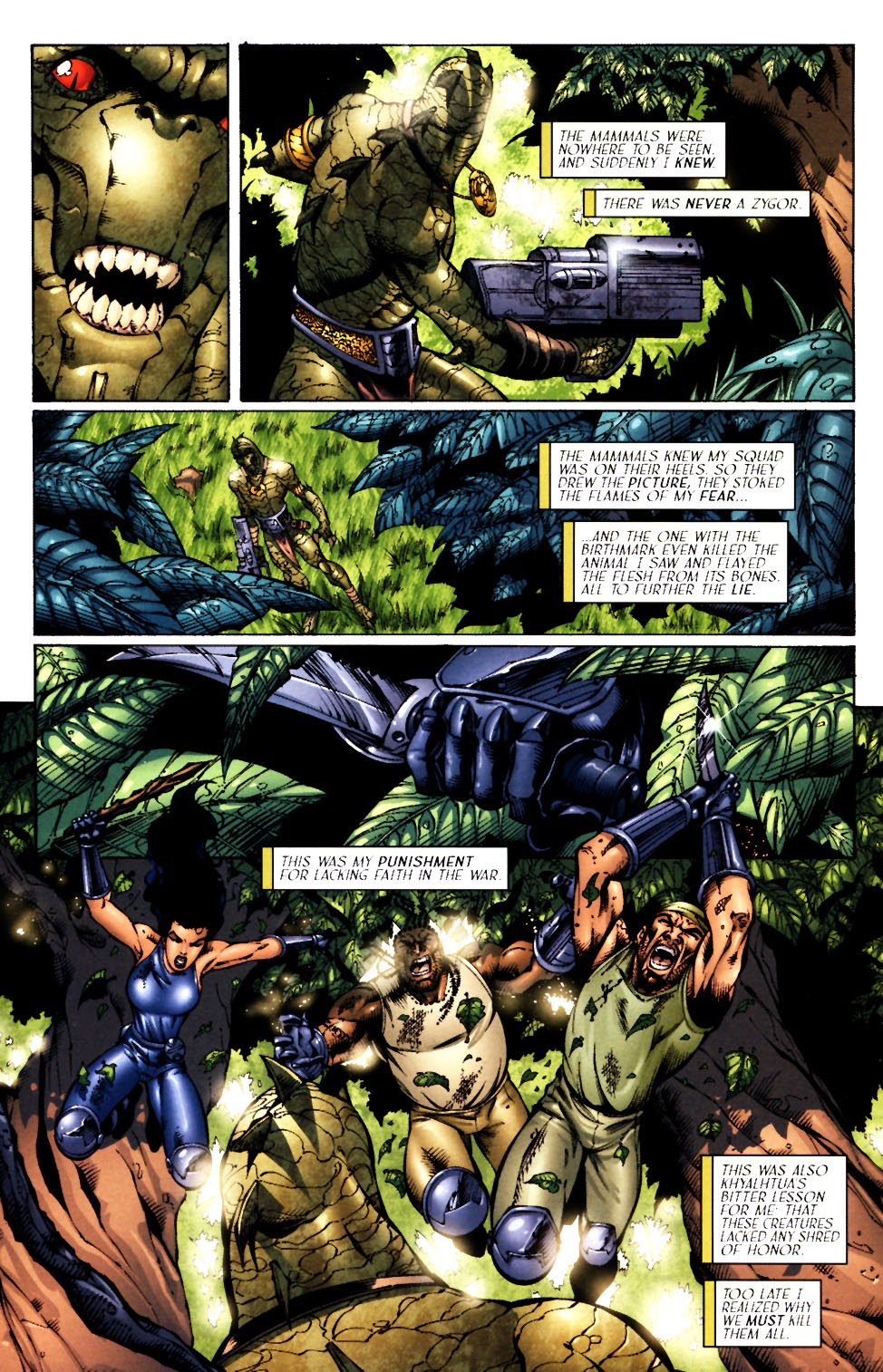 Read online Saurians: Unnatural Selection comic -  Issue #1 - 21