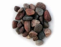 Pea sized aquarium pebbles, substrate for goldfish