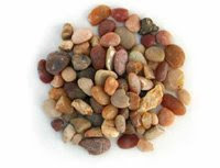 Coral sea Pea sized aquarium pebbles, substrate