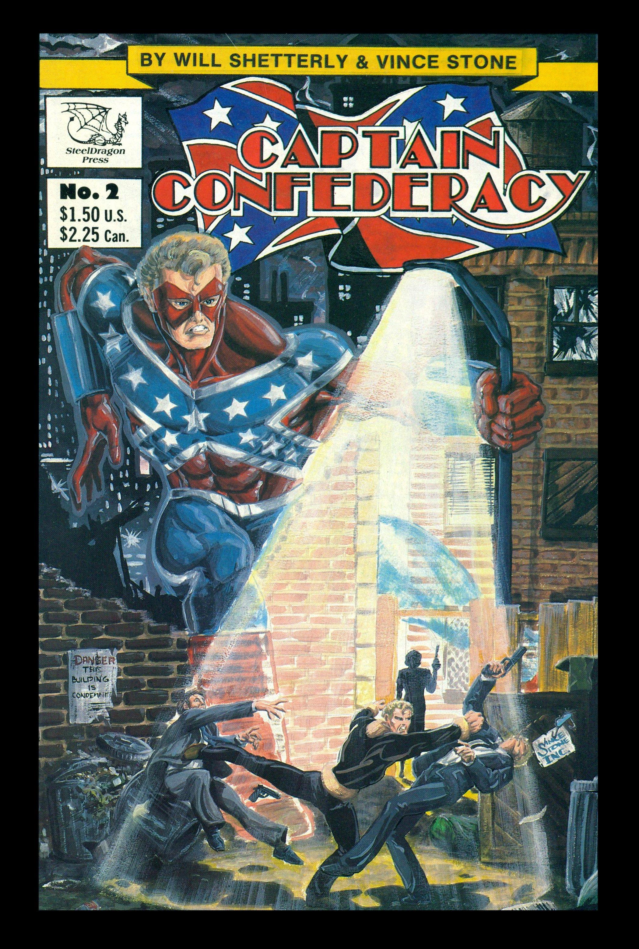 Captain Confederacy (1986) 2 Page 1