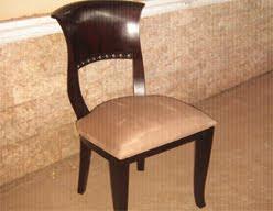 Custom And Contemporary Chair Mahogany Teak Wicker