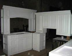 Kitchen Cabinet With Custom Design Mahogany Teak