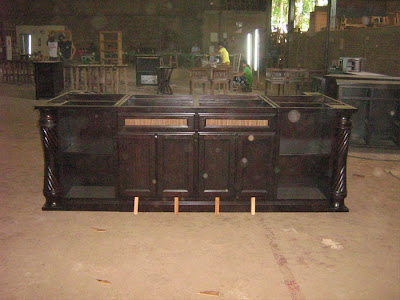 Tv Stand And Lcd Cabinet Mahogany Teak Wicker