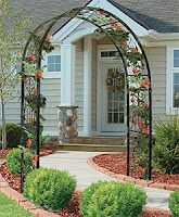 Metal Arbors Great For Rose Vines Garden Com