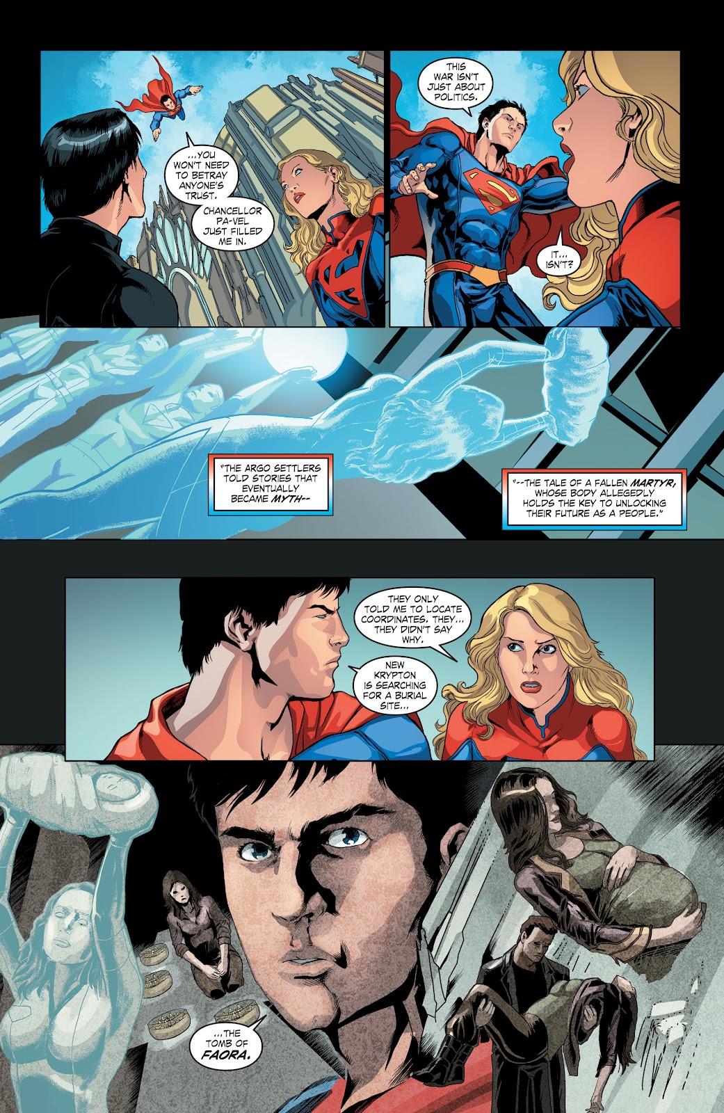 Read online Smallville Season 11 [II] comic -  Issue # TPB 4 - 58