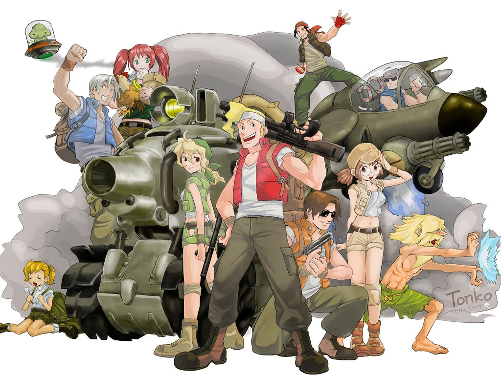 Download Metal Slug Series 2009 Final - PC - Leaderlock