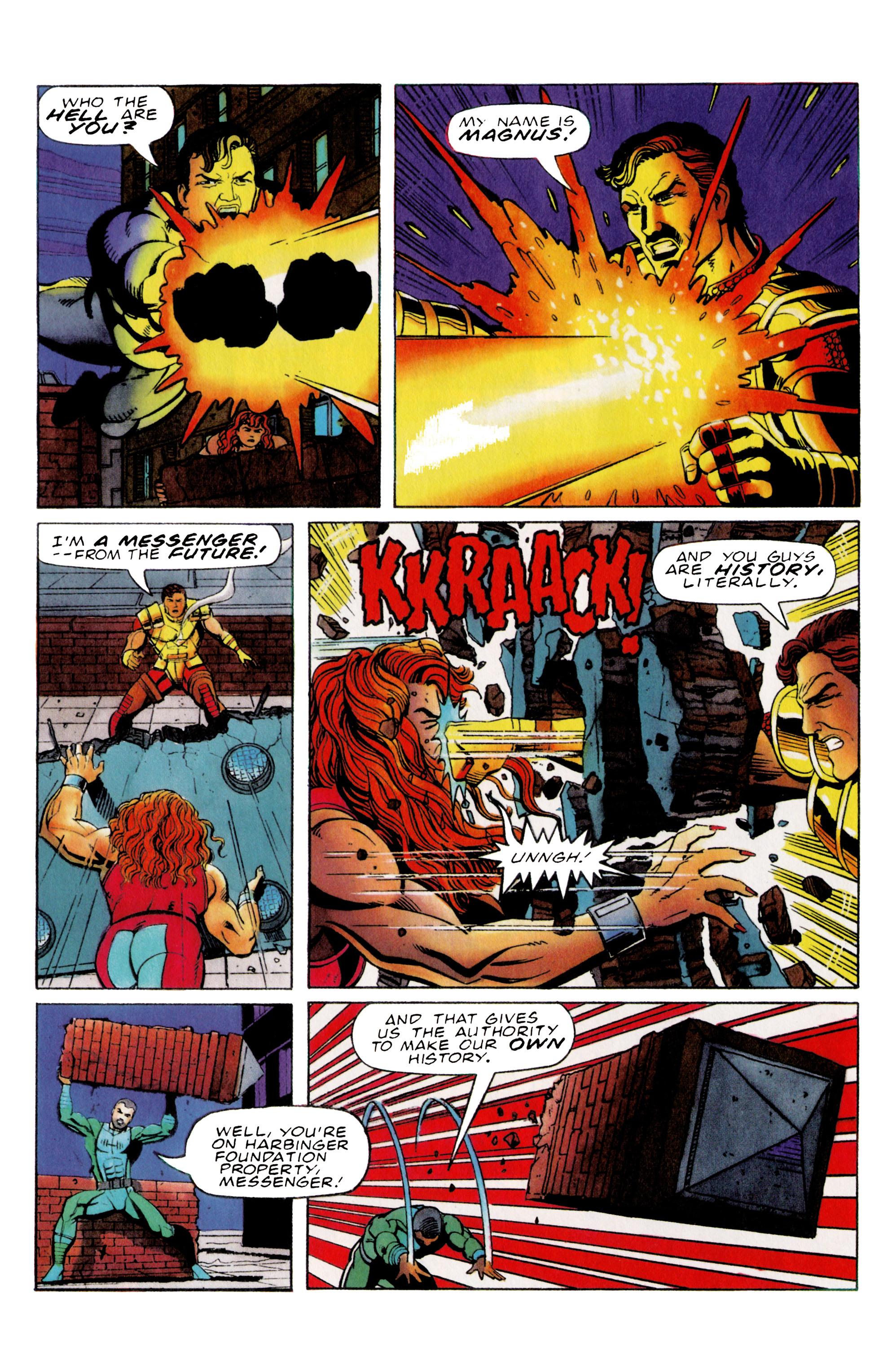 Read online Harbinger (1992) comic -  Issue #36 - 8
