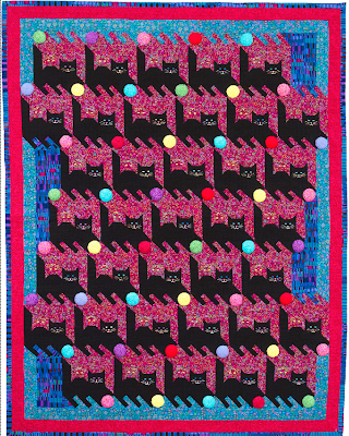 Tessellation Cat Quilt Pattern Free Quilt Patterns