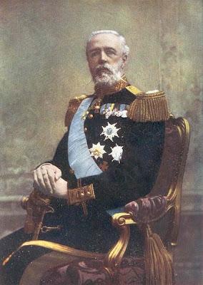 Royal Portraits: Oscar II, King of Sweden  Royal