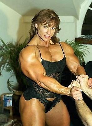 Brazilian female bodybuilder