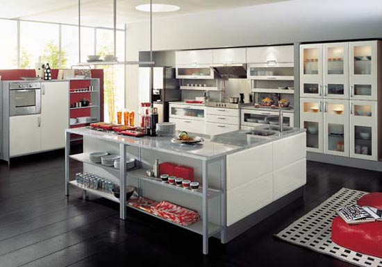 Kitchen Cabinets Design for Professional Chef | Modern Cabinet